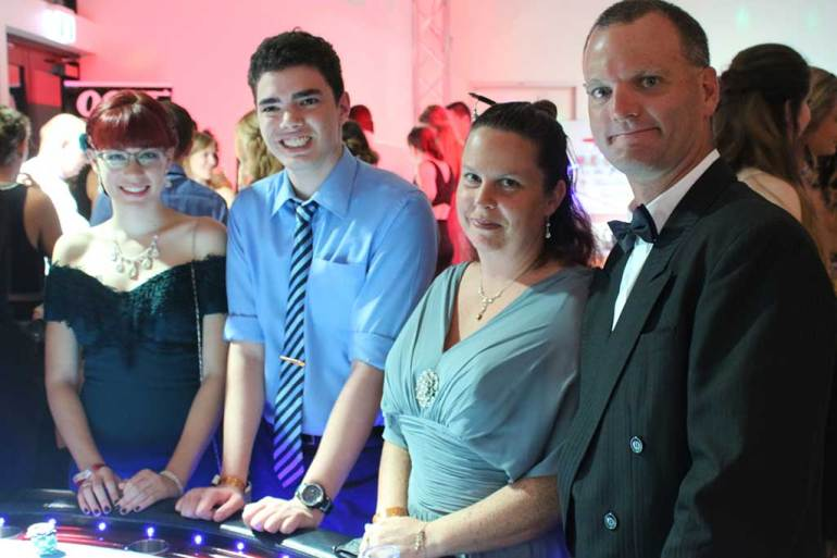 Blackjack players at a Sunshine Coast Event