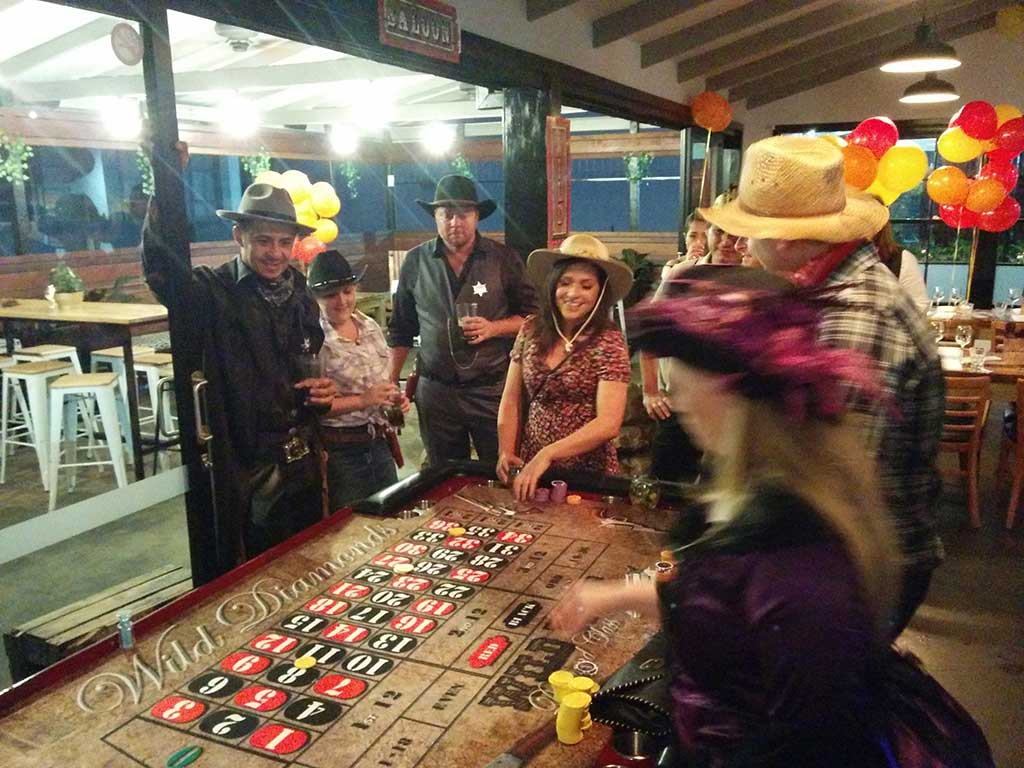 wild west casino theme