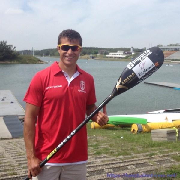 o atleta David Fernandes