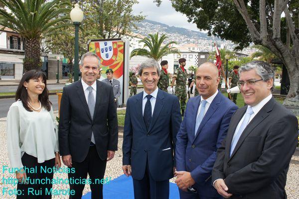 O relacionamento institucional impôs-se nas cerimónias do 10 de junho na Madeira.