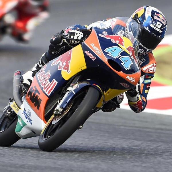 Miguel Oliveira com a sua KTM