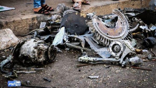 aviao siria