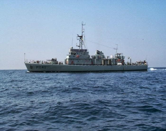 Cacine navio patrulha marinha