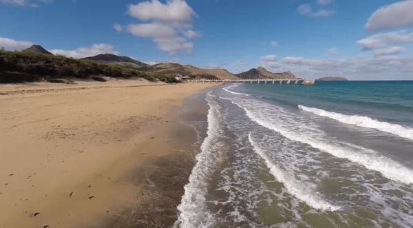 porto santo praia a melhor