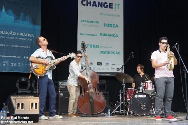 Auditório Jardim Municipal banda