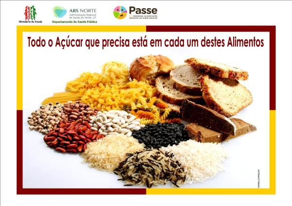 Alternativas saudáveis à ingestão de alimentos ricos em açúcar.