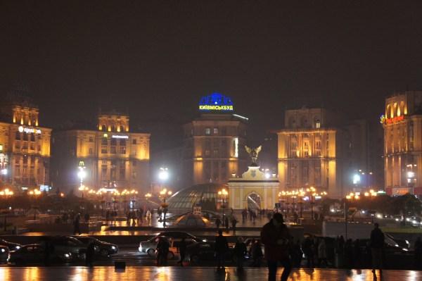 Kiev ao anoitecer: esta é uma cidade que vai dormir e acorda de amarelo e azul, as cores da bandeira nacional