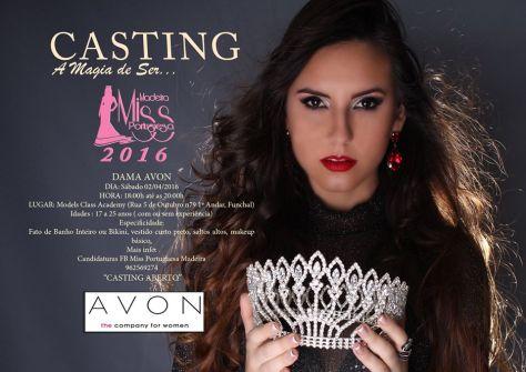 Miss Madeira Avon 2016