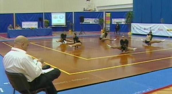 ginástica aeróbica
