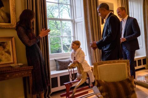Foto:  Facebook da Monarquia Britânica