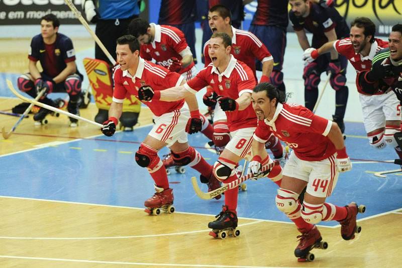 Benfica é campeão europeu de hóquei em patins