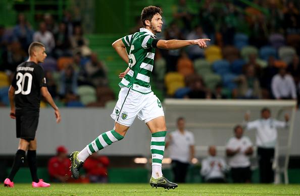 Tobias Figueiredo foi pouco utilizado no Sporting