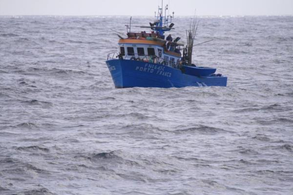 barco de pesca Porto Franco
