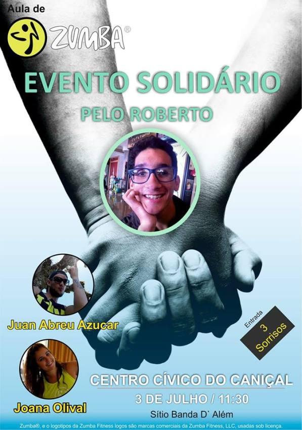 Evento Solidário pelo Roberto