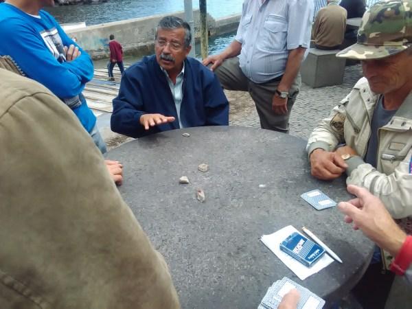 câmara de lobos varadouro pescadores baía cartas jogo