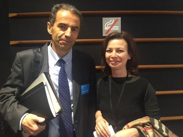 Liliana Rodrigues e Manuel Heitor, ministro