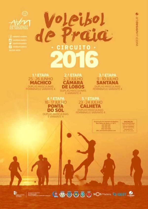 Voleibol de Praia 2016