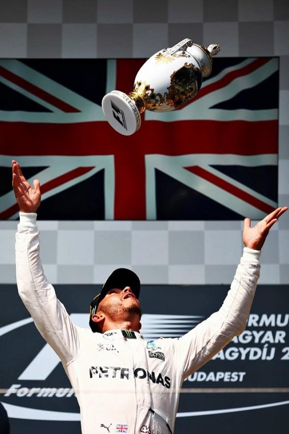 Hamilton voltou ao lugar mais alto do pódio
