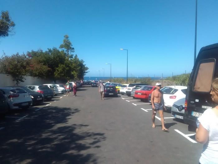 praia formosa psp polícia estacionamento