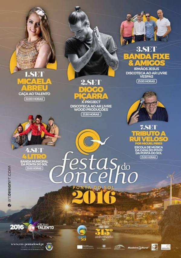 Festas do Concelho  Ponta do Sol 2016