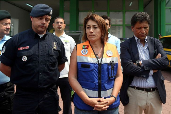MInistra da Administração Interna, Constança Urbano de Sousa Foto José Coelho LUSA