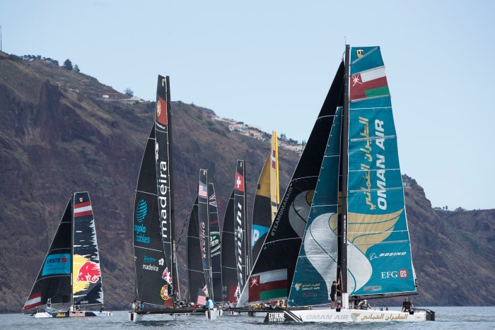 The Extreme Sailing Series 2016. Act 6. Madeira. Portugal. 23rd September 2016.  Credit - Lloyd Images