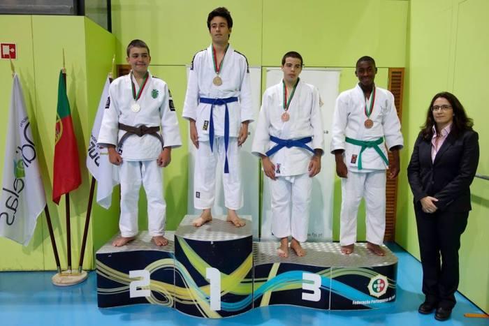 Afonso Gonçalves, em primeiro lugar no pódio