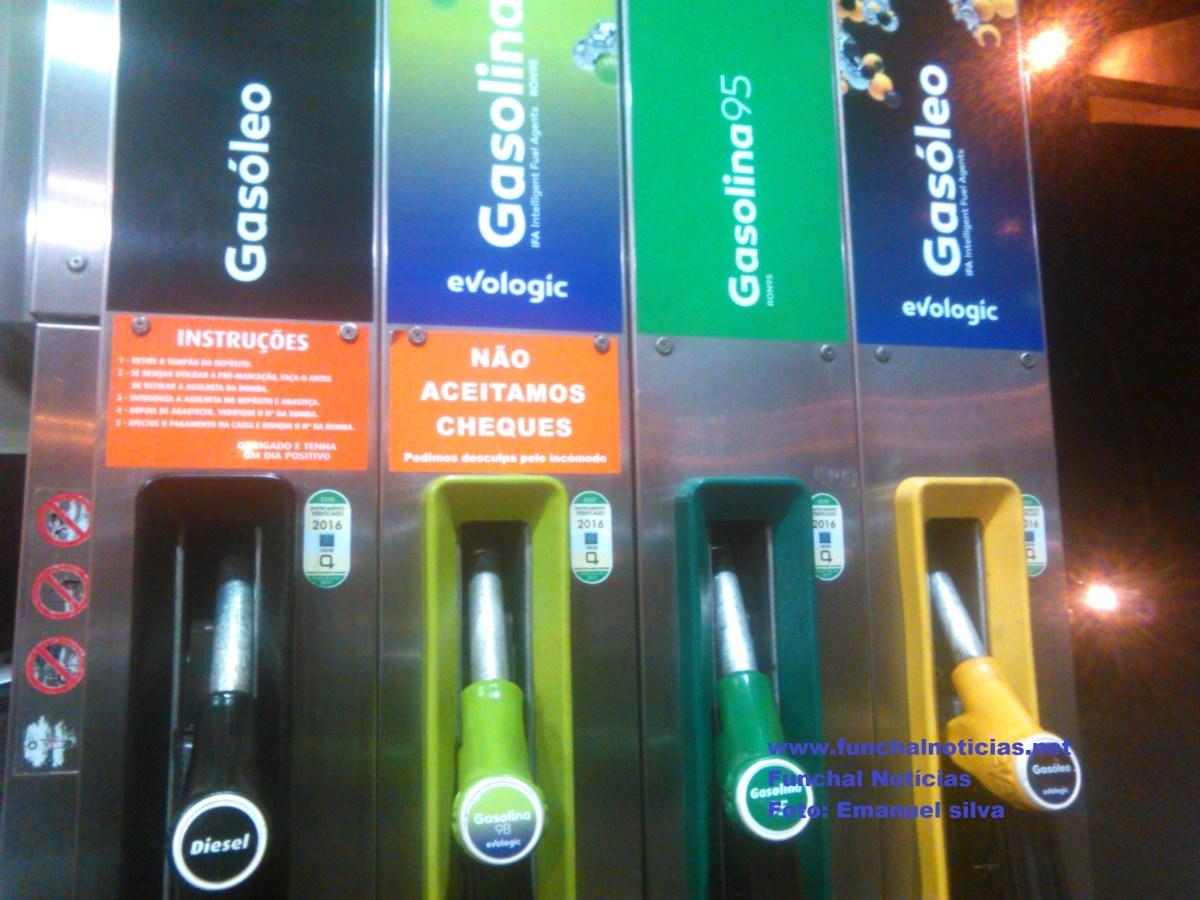 Preço dos combustíveis estabiliza após 4 semanas sempre a descer