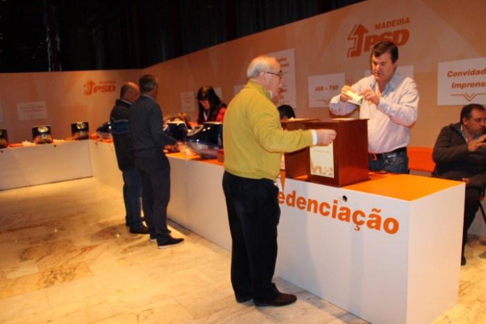 Na primeira hora de votações. Pouco movimento- Foto: Fabíola Sousa