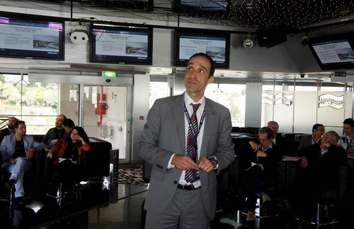 Eduardo Cabrita- director geral da MSC Cruzeiros Portugal- Foto Rui Marote