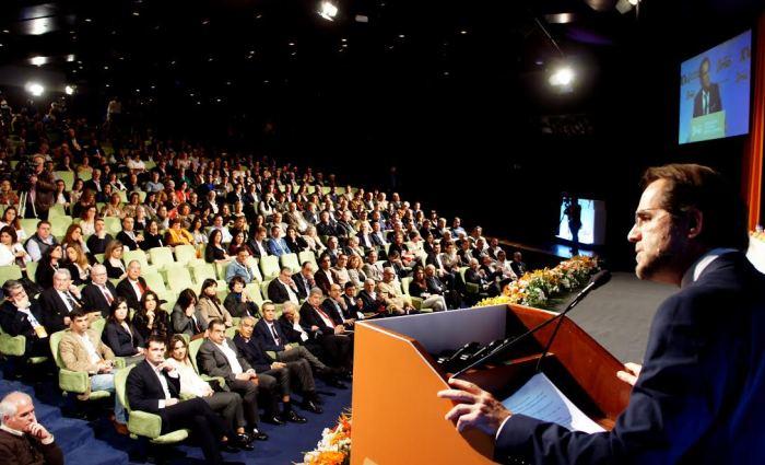 Fala o presidente- Miguel Albuquerque- Foto: Rui Marote