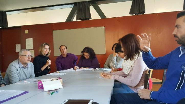 São Jorge-Reunião de trabalho em Feldkirch