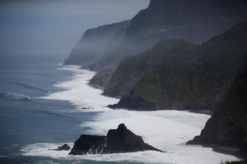 Mau tempo, com ventos e agitação marítima para as próximas horas na Madeira
