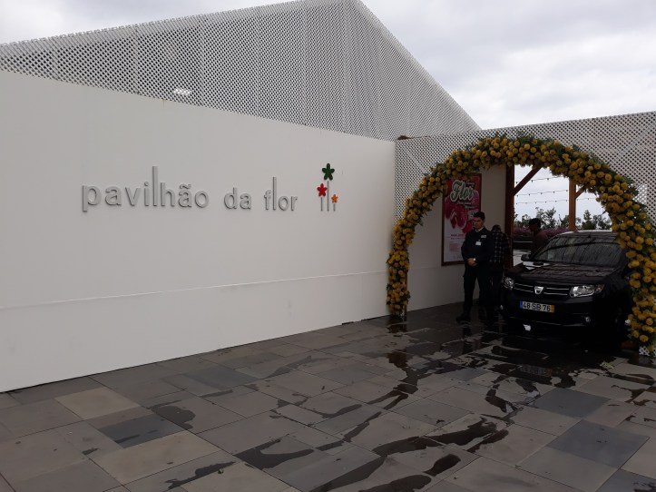 Pavilhão da Flor fechado