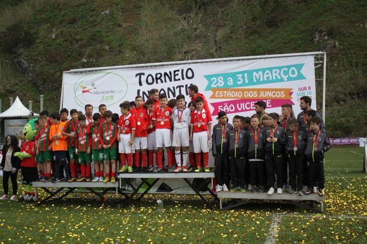 São Vicente Cup Benfica vence A