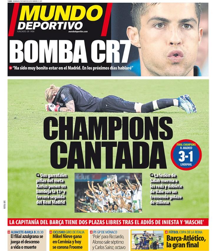 Ronaldo Mundo desportivo