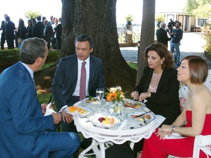 Pedro Calado com Cristina Pedra Dia do Empresário