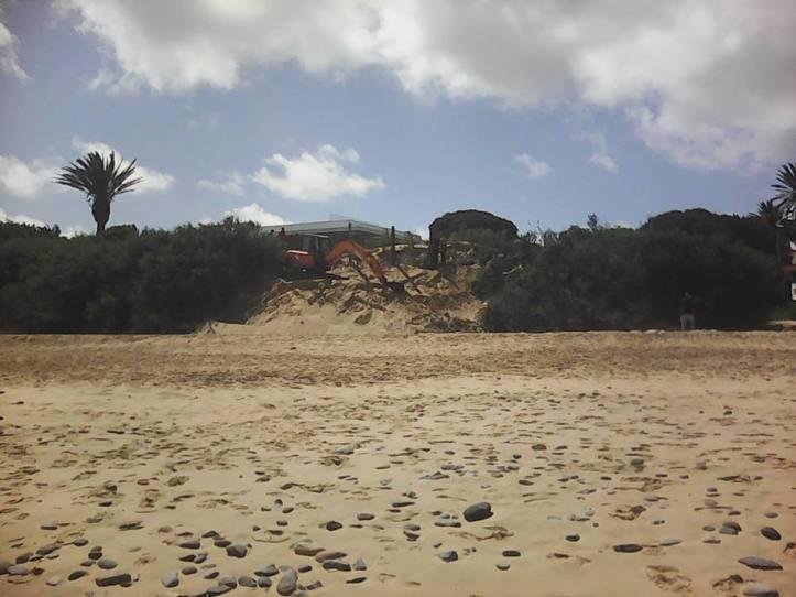 Praia Máquinas