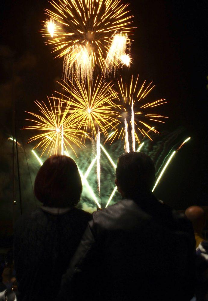 Fogo sul-africano brilhou nos céus do Funchal