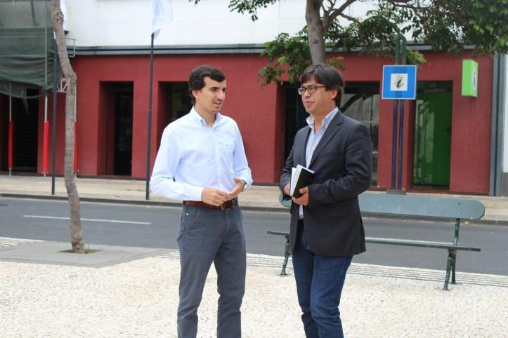 João Pedro Vieira PS-M Foto Conferência Imprensa