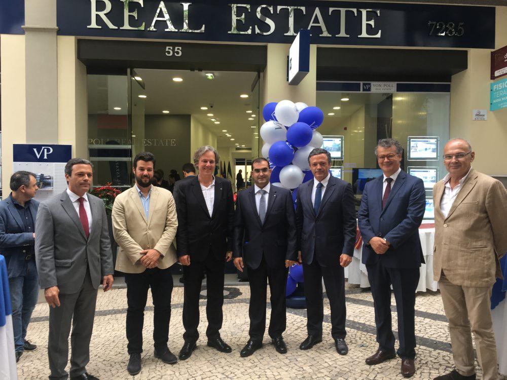 Pedro Calado elogiou nova loja da imobiliária Van Poll na Região