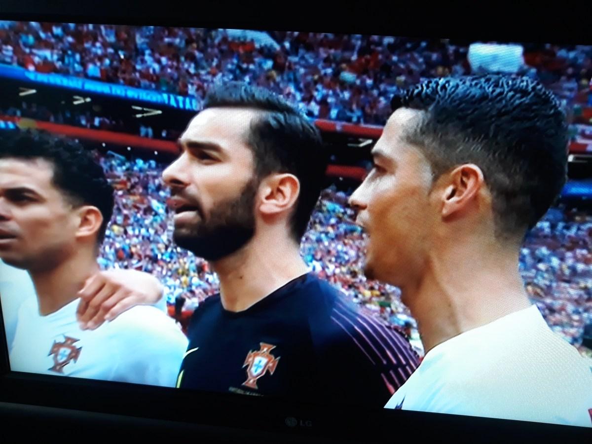 Ronaldo marca a Marrocos