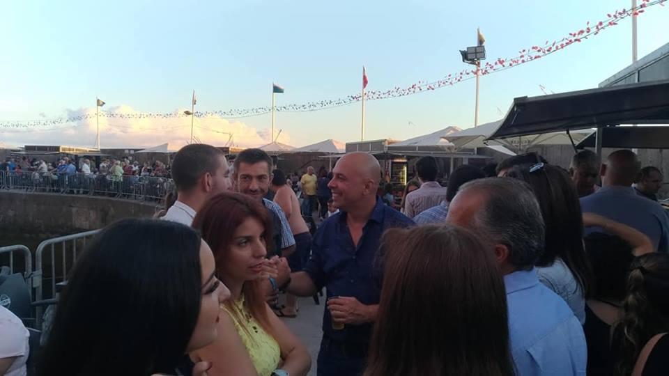 Paulo Cafôfo foi à Festa da Lapa