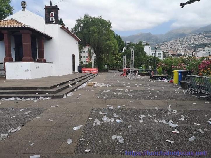 Funchal sujo Santa Catarina A Foto Luis Hilário