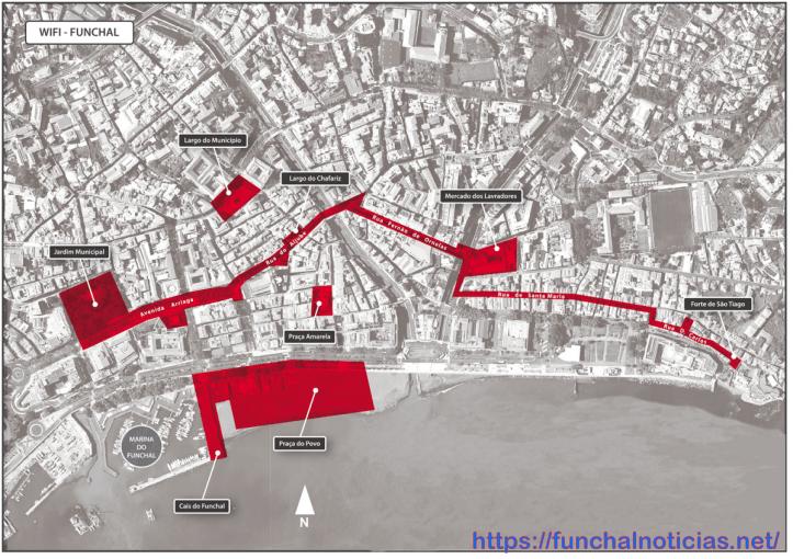 WIFI-mapa
