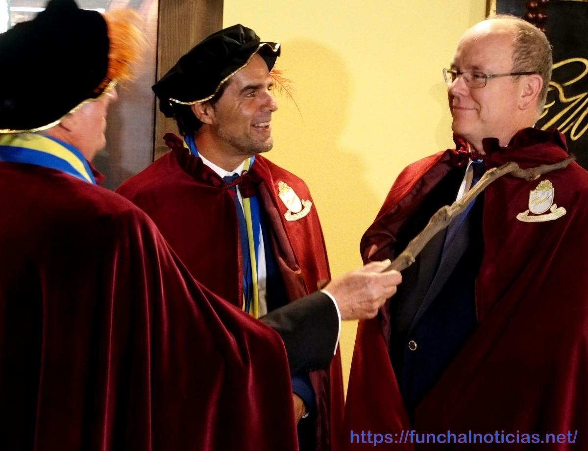 Príncipe do Mónaco promete fazer todos os possíveis para dar a conhecer o vinho da Madeira