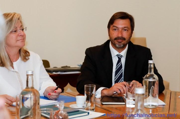 Amílcar Gonçalves e Rita Andrade Conselho de Governo