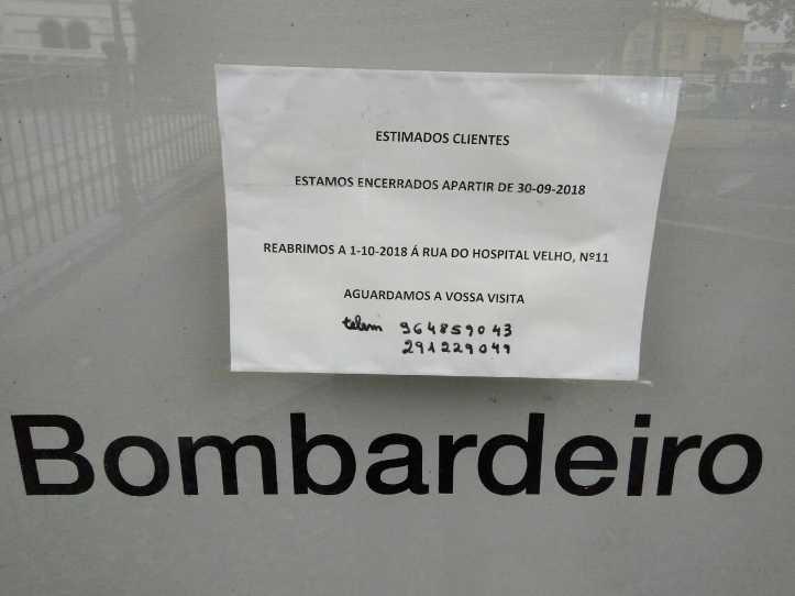 Bombardeiro venda de prédio