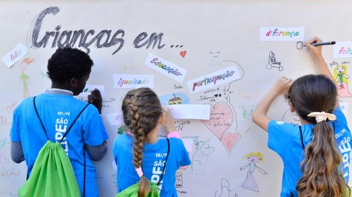 Criança Parque de Santa Catarina