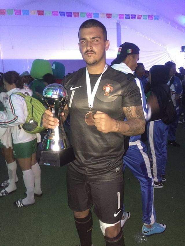 Mariano Abreu futebol de rua